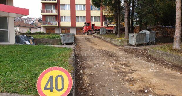 Власеница : Нови асфалт у насељу Аделите
