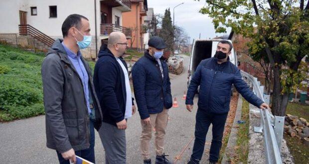 Власеница : Изграђена заштитна ограда у насељу Заједница